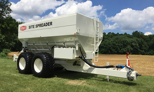 Stoltz pull-type cement spreaders