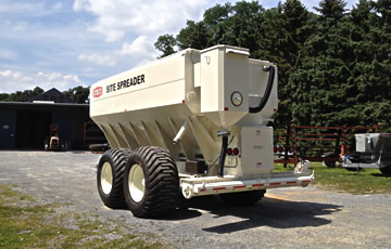 27 Ton Cement Spreader Trailer