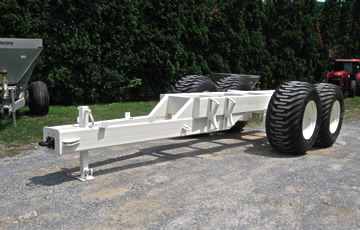 Cement Spreader Floater Trailer