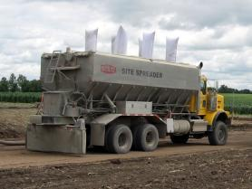 Truck Mounted Cement Spreader